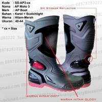 Sepatu Boot Karet AP Moto 3