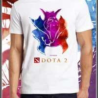 Dota 2 Invoker Baju Kaos Gildan | Print | Distro | Custom Design