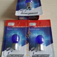 Lampu Sein Mundur Autovision Natural Blue S25 12v