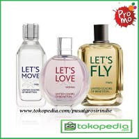 Harga Promo !!! Parfum Original Benetton Pria Dan Wanita 100ML EDT