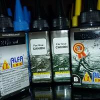 Tinta Alfaink 100ml canon black