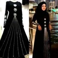 Baju muslim wanita / baju india / gamis mewah
