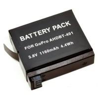 Rajawali Battery AHDBT-401 for Gopro Hero 4 Silver/Black Edition