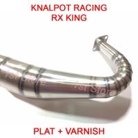 Knalpot Racing RX King Special RXZ RXS RXK RXKing 3v3 Kolong Telo 2tak