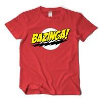 Kaos Big Bang Theory Bazinga