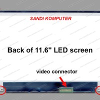 LCD LED Acer Aspire one 722 725 756 Series 11.6 inch slim