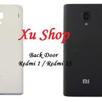 Back Door / Tutup Belakang Xiaomi Redmi 1 / 1S (White & Black)