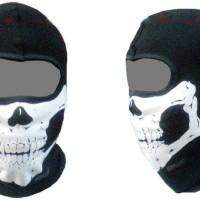 masker tengkorak. skull mask, balaclava.