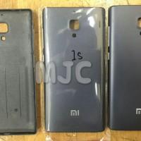 Back Door Xiaomi Redmi 1S Tutup Baterai  Black / Grey ready