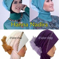 HANA NADHIRA / Hijab / Jilbab Pesta Instan