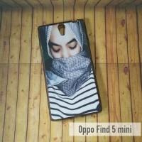 OPPO FIND 5 MINI R827 CASE CUSTOM (SOFTCASESKIN)