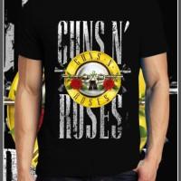 Guns n Roses Baju Kaos Gildan   Logo   Custom Design   Distro