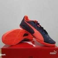 Sepatu Futsal Puma EvoSpeed 3.4 Sala Lava Blast