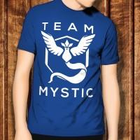 Pokemon Go 3 Team Mystic Solid Game Anime Kaos T-Shirt TShirt Anak