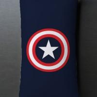 Bantal Sofa / dekorasi Cartoon - Superhero Captain America Long 861