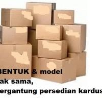 Packing Tambahan Kardus / Dus / Karton.