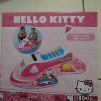 Pelampung Renang Hello Kitty Jetski Intex / Ban Renang Intex Ride On