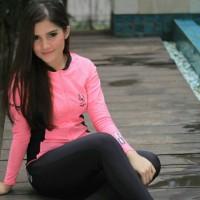Baju renang wanita assila (gym,yoga,snorkeling,diving)
