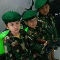 baju/seragam TNI anak