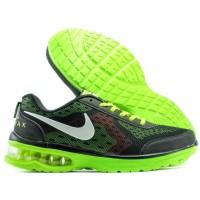 Sepatu Running Sport Casual Nike Max Air Hitam Hijau
