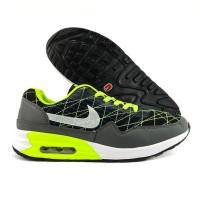 Sepatu Running Sport Casual Nike Air Max 90 Men  A+ Hitam Hijau