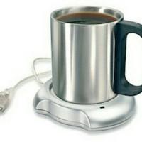 USB 2.0 Coffee Cup Warmer with 4 USB/ Pemanas Kopi