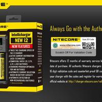NITECORE New i2 2016 IntelliCharger bisa NiMH NiCD Li-ion IMR LiFePO4