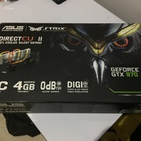 VGA ASUS GTX 970 4GB DDR5 STRIX DirectCU II OC Edition
