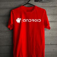 Kaos/T-shirt Logo Android Murah