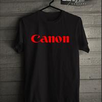 Kaos/T-shirt Canon Logo Murah