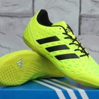 Sepatu Futsal Adidas Ace 15.3 Hijau Stabilo Kw Super Murah Terbaru
