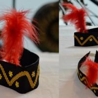 Topi adat Dayak aksesoris tari baju daerah ikat kepala tarian