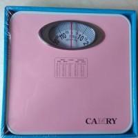 Timbangan Badan Analog Camry model BR9015B warna pink