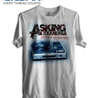 Kaos ASKING ALEXANDRIA Stepped Out & Scratched GILDAN Tshirt