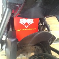 Mud Flap vixion / Aksesoris Vixion / Yamaha Vixion / Spakbor Kolong /