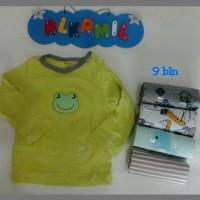 Atasan panjang bayi / atasan carter / baju bayi / atasan anak