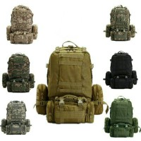 Tas Ransel Coklat Army 50L