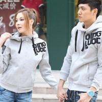 Jacket Couple CEWEK COWOK Grey Qing