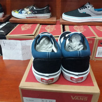 Sepatu Sekolah anak laki laki / Skateboard/ Casual / BMX / Vans Old
