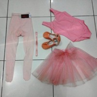 Baju Ballet anak Full Set