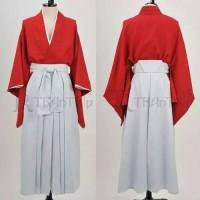 yukata kimono kenshin samurai x baju tradisional / adat jepang
