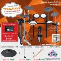 Drum Elektrik Yamaha DTX562K +XtraCymbal / DTX562 / DTX 562 / DTX 562k