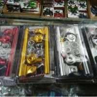 stang jepit stelan/udjustable for vixion new/vixion old,yamaha R15 dll