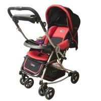 Pliko Stroller S-399 Paris Red