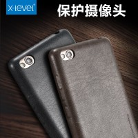 Xiaomi Redmi 3 X-LEVEL Premium Leather Back Cover Case Casing Kulit
