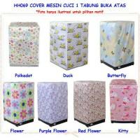 Cover Mesin Cuci / Sarung Mesin Cuci / Penutup Mesin Cuci