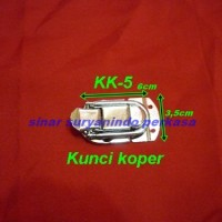 KK5/Kunci Koper/Box/Hardcase accessories