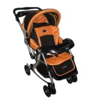 Pliko Paris PK-399 - Baby Stroller 4 in 1 - Oranye