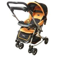 Pliko Stroller S-399 Paris Orange