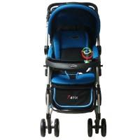 Pliko Stroller S-399 Paris Dark Blue